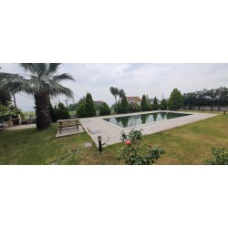 Eskidji'den 1100m2 Arsa İçinde Müstakil Havuzlu Manzaralı Dubleks Villa