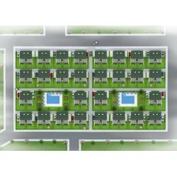Kuşadası Davutlar Yolunda 4+1 Tripleks Satılık Villalar