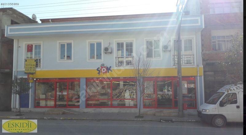 şok Market Kiracılı Dükkan Ve 7adet Daireden Oluşan Komple Bina!