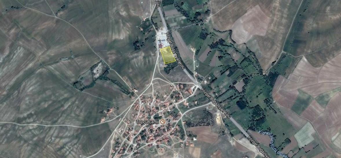 Eskidji Gayrimenkul Topcu Köyü 6.272 M2 Kullanımlı Ticari Arsa