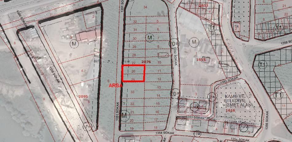 Ordu Eskidjiden Cumhuriyet Mahallesinde Satılık Konut Arsası