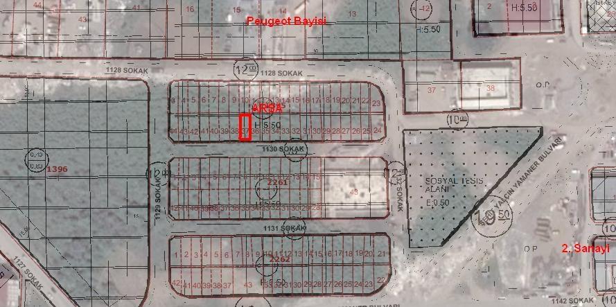 Ordu Eskidjiden Karapınar Mahallesinde Satılık Sanayi Arsası
