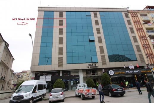 Eskidji Den Barış İşmerkezinde Çift Cepheli Satılık Ara Kat Ofis