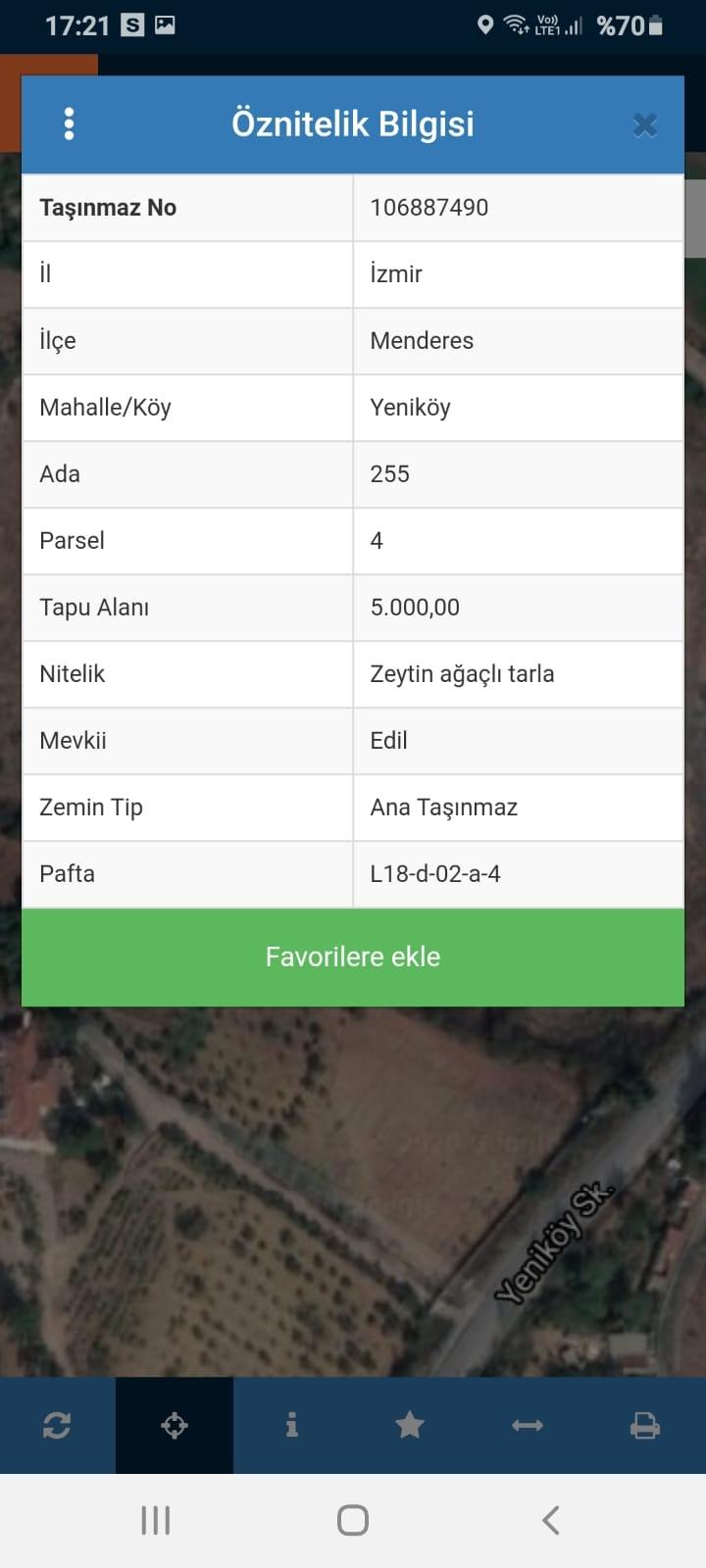 İzmir Menderes Yeniköy