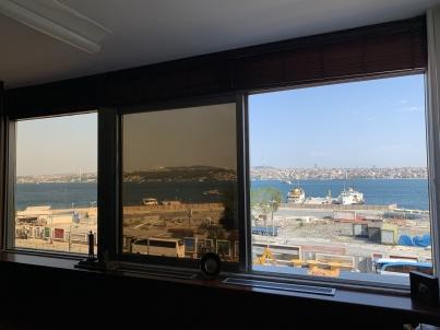 Kabataş Setüstünde Muhteşem Manzaralı Çok Şık Net 120 M2 Kiralık Ofis