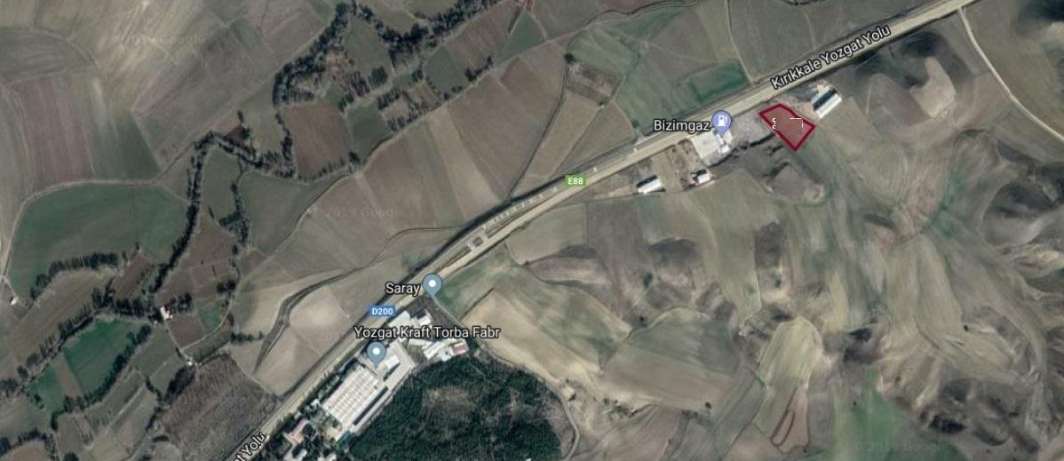 Saray Köy Petrol İstasyonu Yanı 3.806 M2 Arsa
